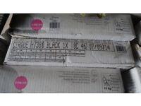 24 Packs of Black Tiles (bought from B&Q) 33.3cm X 33.3cm x 7.7mm (9 tiles per pack)