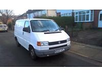 Vw t4 white 1996 1.9 swb panel van for sale. Quick sale!