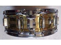 Vintage snare drun rogers brass dynasonic