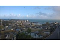 3 bedroom holiday apartment st ives with stunning harbour,sea views