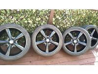 BMW X5 ALLOYS AND TYRES - 22 INCH