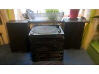 vinyl record player / music system, fab sound quality