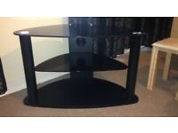 Excellent condition, Glass TV stand *Needs to go today*