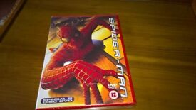Spider Man 2 Disc DVD Collectors Set As New Still Sealed Unwanted Present