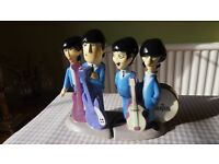 Beatles memorabilia Salt and Pepper shakers