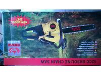Petrol Chainsaw 52cc 2800W 500mm Cutting Diameter Brand New