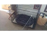 DOG CAGE LARGE - USED - EXCELLENT CONDITION