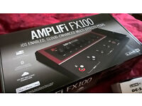 Amplifi FX-100 guitar multi-effects. (ONO for quick sale)