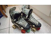 'Retrofit' Roller Skate - Quad Size 10 Rollerskates
