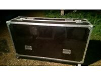 A huge flight case on wheels - Pro Audio - lighting - PA equipment - transportation box