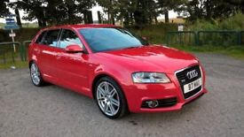 "Audi A3 2.0 TFSI Sportback S Tronic Quattro 5dr 18"" Alloys with new Michelin Pilot Sports"