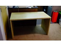 Ikea desk and computer chair.... FREE