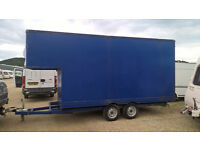 Large Luton Box Trailer For Sale - Great Condition, Priced to Sell!