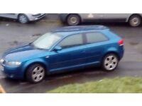 Audi a3 2ltr tdi sport spares or repair