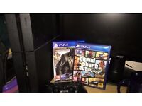 PS4 500gb 2 GAMES 1 CONTROLLER