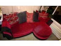 4 Seater Lounger Sofa / corner sofa