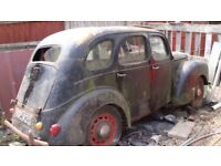 FORD PREFECT 1953 (Complete car restoration project)