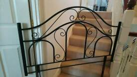 4ft metal headboard