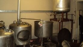 2.5 Barrel 90 Gallon Micro Brewery Complete With Kegs.