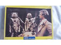 RARE Doctor Who 200-piece fully-Interlocking Jigsaw. Features Peter Davison and the Cybermen. As new