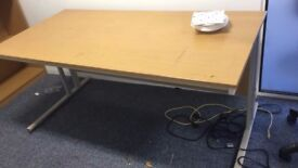 Office Furniture - Desk, table, wooden cabinet - £10 AN ITEM