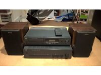 NAD 501 CD Player & NAD C320 Amp w/ 2x AWIA Speakers *** Great Condition***