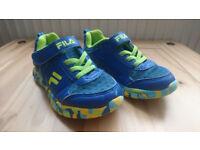 FILA kids trainers size 9