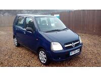 LOW MILEAGE VAUXHALL AGILA 1.0 L & NEW MOT AND SERVICE INCLUDE ON SALE & WIDE UK WARRANTY