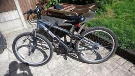 X rated 50 degrees mountain bike