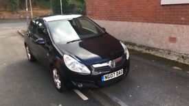 Vauxhall corsa 1.2 desighn excellent first car motd half leather starts and drives excellent