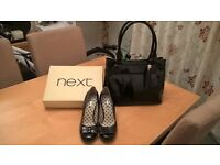 "Ladies ""Next"" Shoes & Bag"
