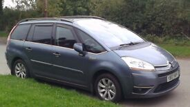 CITROEN C4 GRAND PICASSO 2.0 HDI EXCLUSIVE -spare or repair
