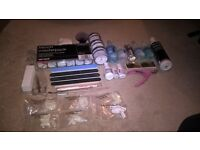 The Edge Acrylics Kit including extra French Tips