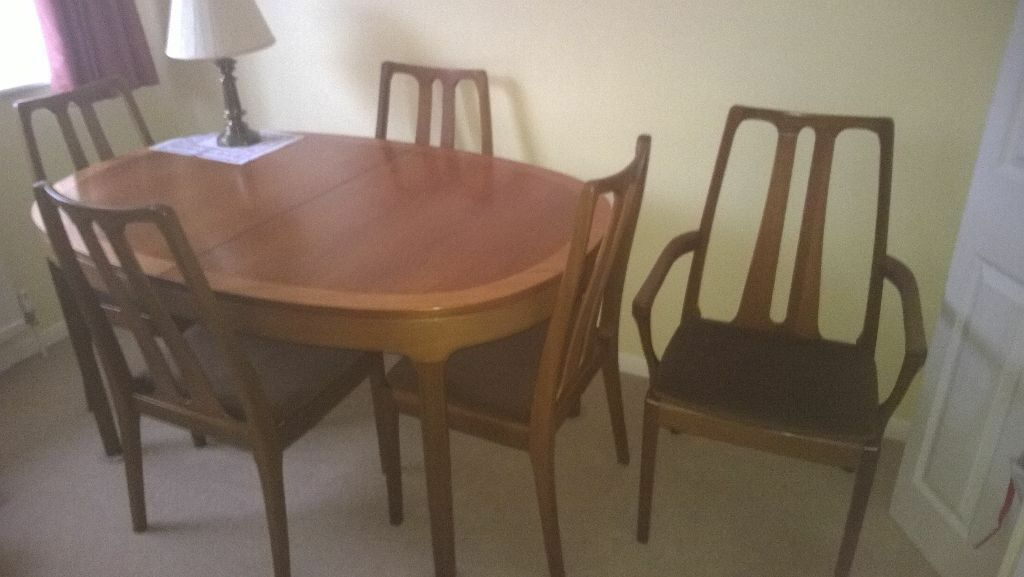 Nathan Teak Dining Room Chairs