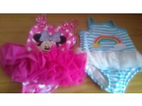 9-12 months brand new swimming costumes