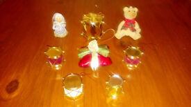 CHRISTMAS XMAS TREE TRIMMINGS & DECORATIONS