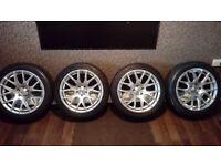 17 Inch Alloy Wheels Avant Garde Subaru VW 100 X 5