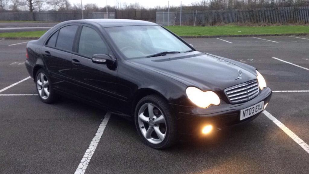 mercedes c220 cdi 2003 auto triptronic in darlington county durham gumtree. Black Bedroom Furniture Sets. Home Design Ideas