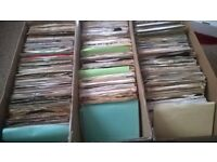 10 X 45 RPM 7 INCH SINGLES. PICKED AT RANDOM