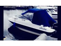 Boat 20ft Motorboat with 120hp Mercury Outboard