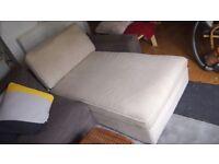 Ikea Kivik Chaise Lounge in ISUNDA BEIGE