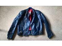 70's Lewis Leathers- jacket woman 38