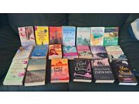 ABSOLUTE BARGAIN!! 50 WOMEN FICTION BOOKS ASSORTED GREAT COND/ TITLES PIC EXAMPLE ONLY £10