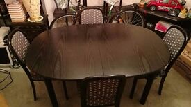 G-Plan Dining table and chairs .. Must sell ..