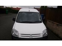 55 Plate White Citroen Berlingo Van in good condition