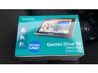 Garmin drive 50LM sat nav brand new in box