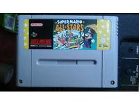 SNES Game - Super Mario All-Stars