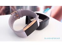 FitBit Charge 2 HR - Lavender & Rose Gold - Size Small