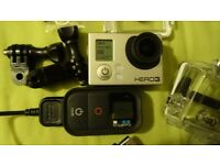 Action camera GoPro Hero 3 Black with remote controller