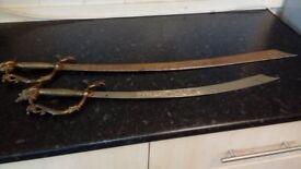 Nice pair of ornamental sabres.